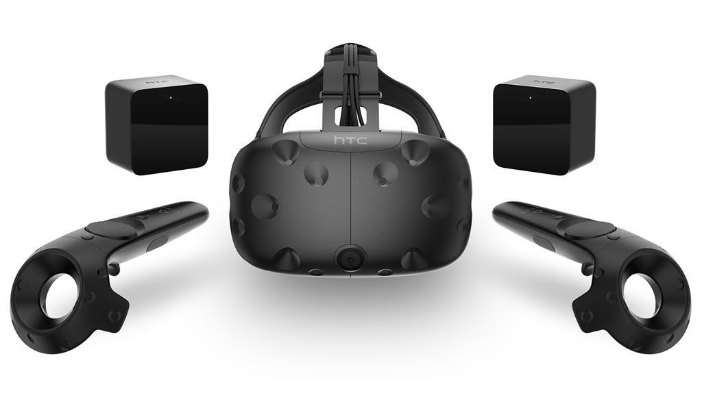 HTC Vive VR Headset + Motion Controller + Tracking sensor