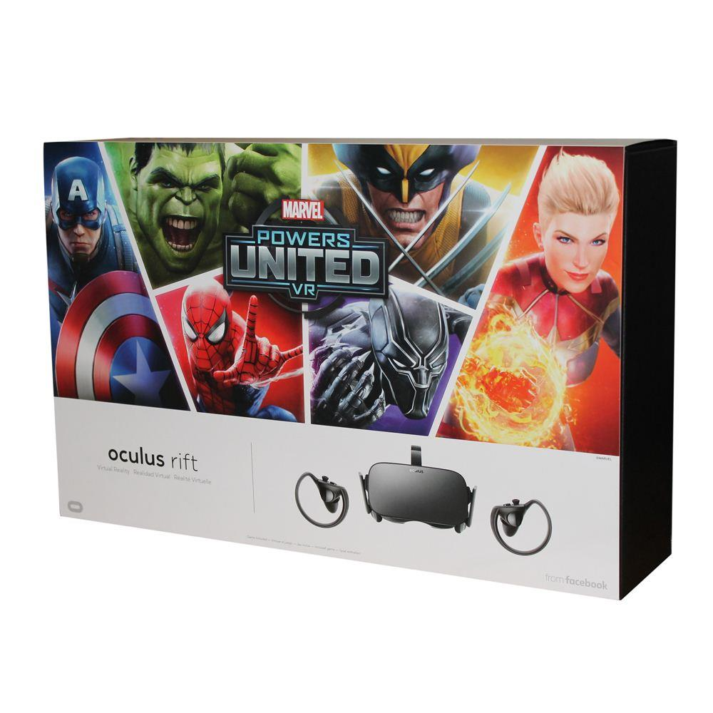 Oculus Marvel Powers United VR Special Edition Rift + Touch Limited Edition 93de047af2