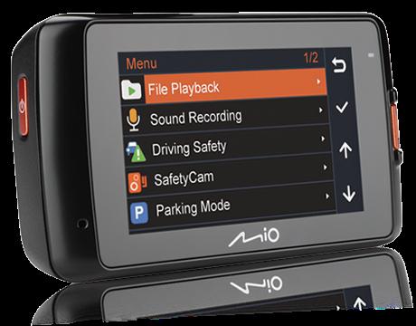 MIO MiVue 618 DRIVE RECORDER, GPS, autós kamera