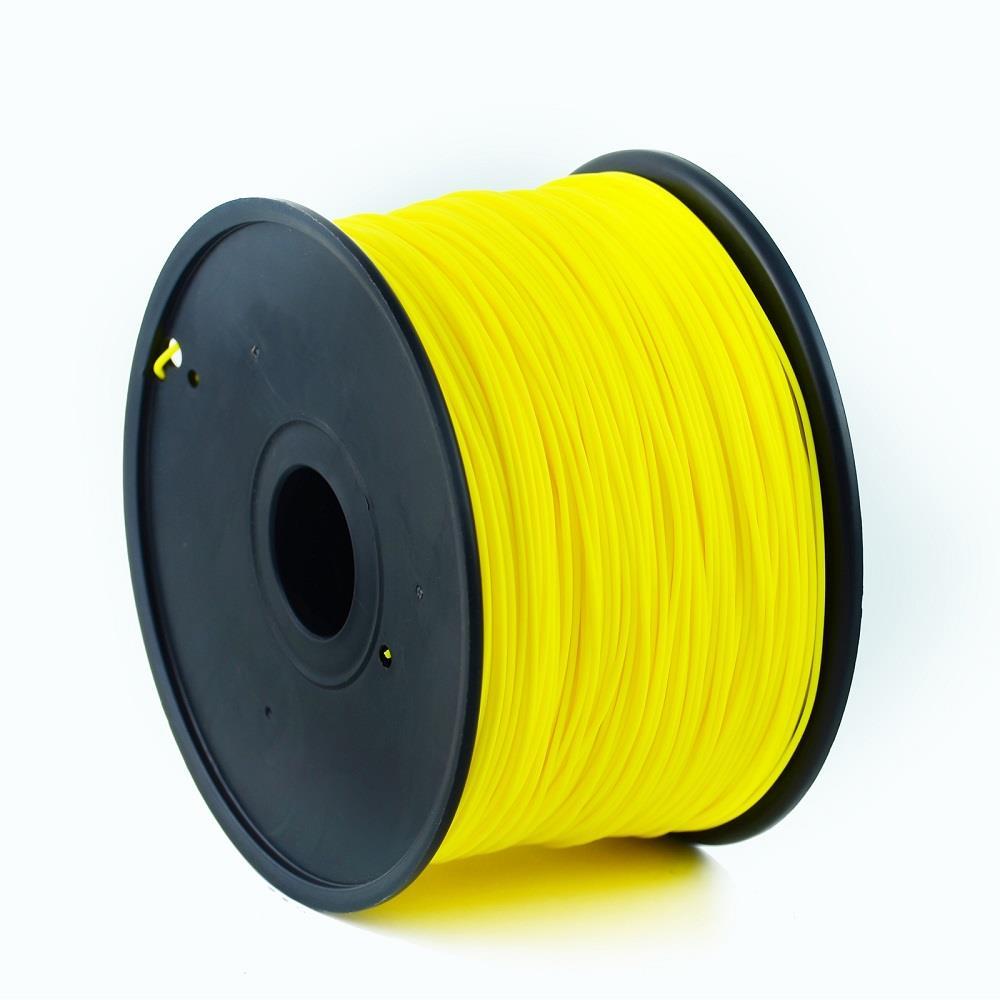 Gembird 3D nyomtató anyagszál | ABS | sárga | 1,75 mm | 1 kg