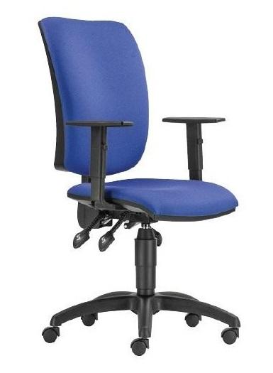 Cinque ASYN LX irodai forgószék | állítható karfa | műanyag lábkereszt | OP.N8 acélkék