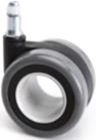 d.65 görgő forgószékhez | design | parkettára | 65 mm átmérő | 11 mm csap átmérő