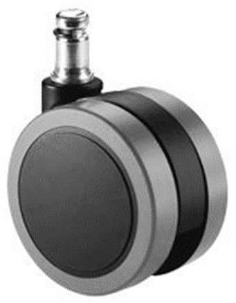d.65 görgő forgószékhez | parkettára | 65 mm átmérő | 11 mm csap átmérő