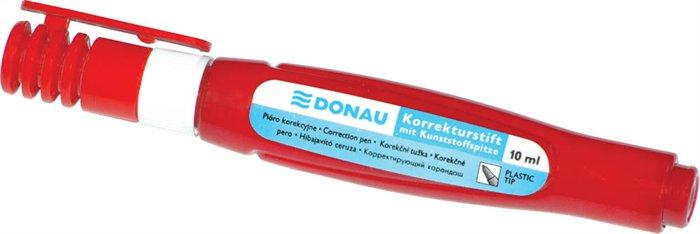 Hibajavító toll, műanyag heggyel, 10 ml, DONAU