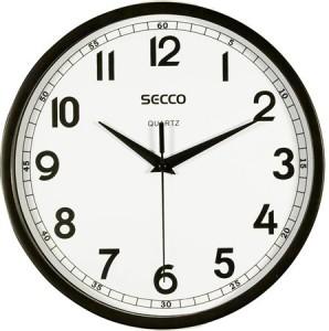 Falióra, 24,5 cm,  SECCO, fekete