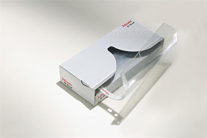 Genotherm, lefűzhető, A4, 55 mikron, víztiszta felület, adagolóban, ESSELTE At Hand