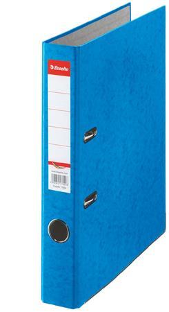 Iratrendező, 50 mm, A4, karton, ESSELTE Rainbow, kék