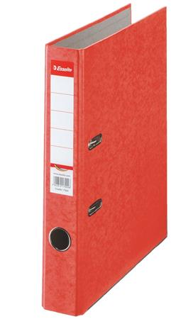 Iratrendező, 50 mm, A4, karton, ESSELTE Rainbow, piros