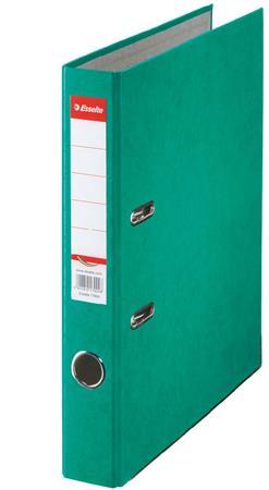 Iratrendező, 50 mm, A4, karton, ESSELTE Rainbow, zöld