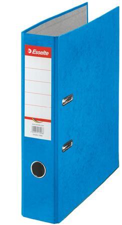 Iratrendező, 75 mm, A4, karton, ESSELTE Rainbow, kék