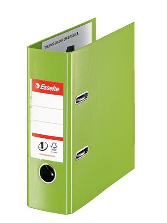 Iratrendező, 75 mm, A5, PP, ESSELTE Standard, Vivida zöld