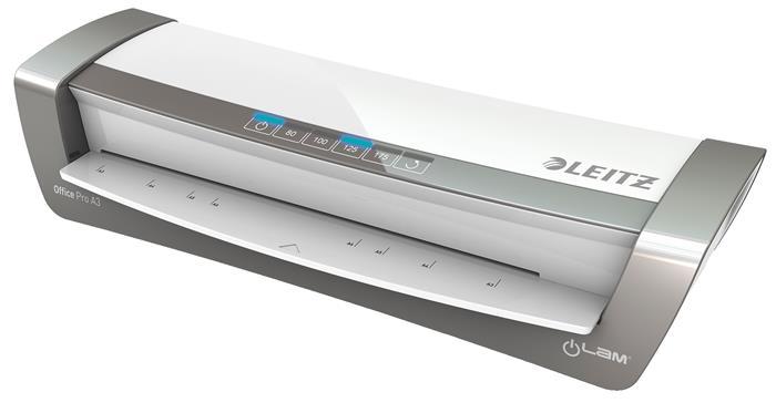 Leitz iLam Office Pro laminálógép | A3 | 80-175 mikron | ezüst
