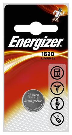 Gombelem, CR1620, 1 db, ENERGIZER