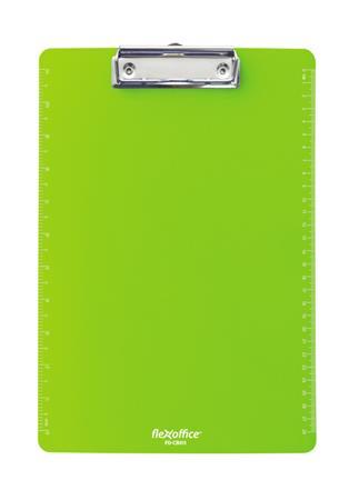 Felírótábla, A4, műanyag, FLEXOFFICE FO-CB011, zöld
