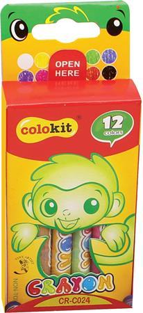 Zsírkréta, COLOKIT Crayon, 12 különböző szín