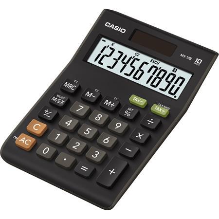 Számológép, asztali, 10 számjegy, CASIO MS-10B S
