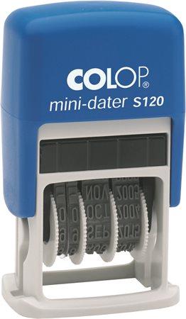 Dátumbélyegző, fordított, COLOP S120