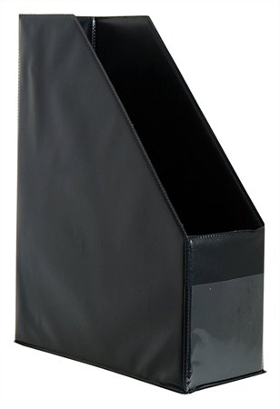 Iratpapucs, PVC, 95 mm, VICTORIA, fekete