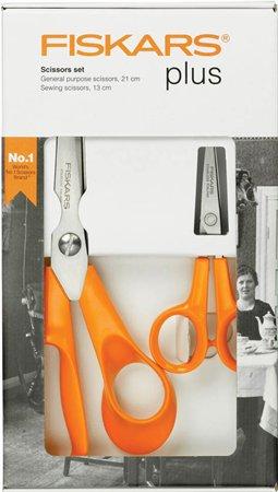 Olló készlet, FISKARS Classic, narancssárga