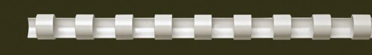 Fellowes 6 mm műanyag spirál | 10-20 lap | fehér | 100 db