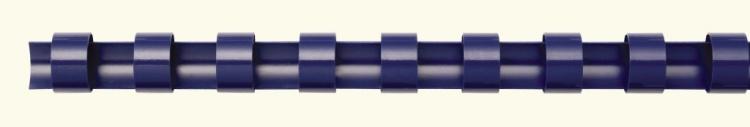 Fellowes 6 mm műanyag spirál | 10-20 lap | kék | 100 db