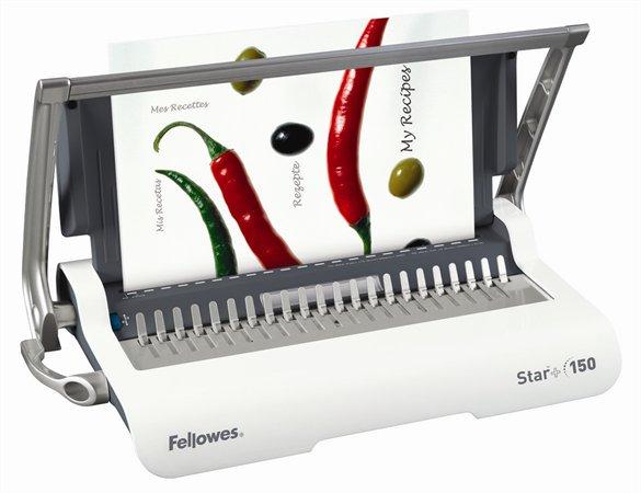 Fellowes Star+ manuális spirálozógép műanyag spirálkötéshez | 150 lap