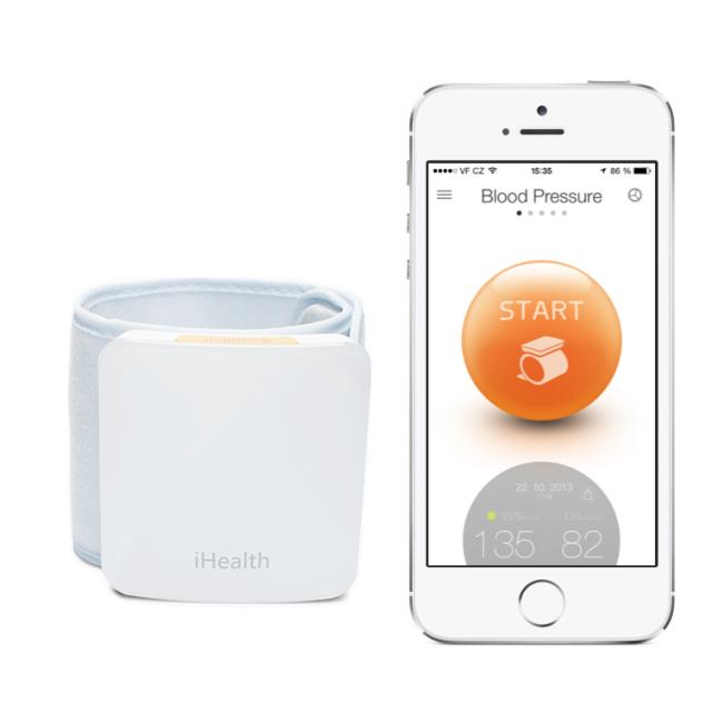 iHealth View BP7 vérnyomás- és pulzusmérő eszköz..