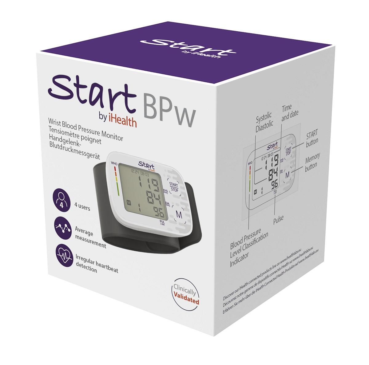 iHealth BPW klasszikus csukló vérnyomásmérő..