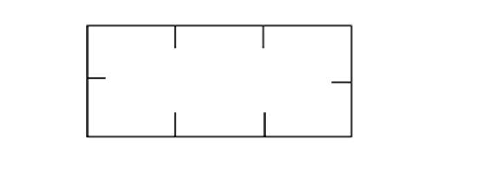 Árazószalag, 10x18,6 mm, fehér