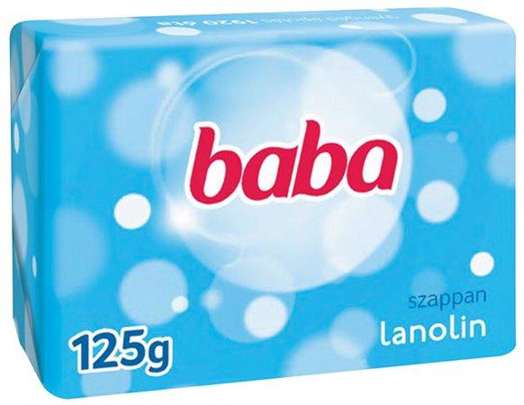 Krémszappan, 125 g, BABA, lanolinos