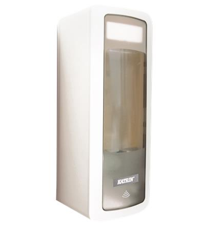 Folyékony szappan adagoló, szenzoros,  KATRIN, Touchfree, fehér