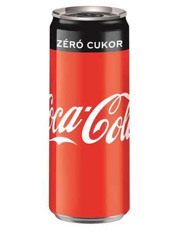 Üdítőital, szénsavas, 0,33 l, dobozos, COCA COLA Coca Cola Zero