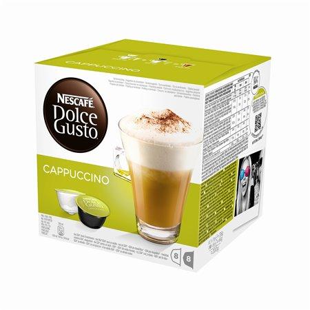 "Kávékapszula, 8x2db  NESCAFÉ ""Dolce Gusto Cappuccino"""