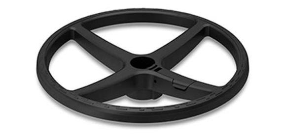Lábtartó gyűrű irodai forgószékekhez   állítható   fekete