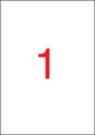 Apli etikett címke | univerzális | 210x297 mm | 25 etikett/csomag