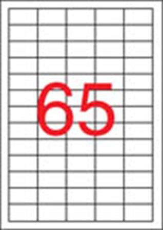 Apli etikett címke | univerzális | 38x21,2 mm | 1625 etikett/csomag