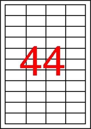 Apli etikett címke   univerzális   48,5x25,4 mm   440 etikett/csomag