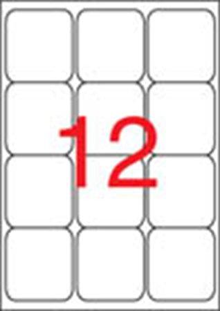 Apli etikett címke | univerzális | 63,5x72 mm | kerekített sarkú | 1200 etikett/csomag