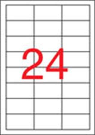 Apli etikett címke | univerzális | 64,6x33,8 mm | 2400 etikett/csomag