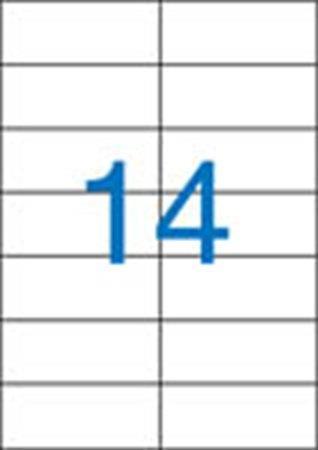 Victoria etikett címke | univerzális | 105x42,4 mm | 1400 etikett/csomag