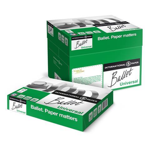 """BALLET """"Universal"""" A4 másolópapír   80 g   300 csomag/raklap"""