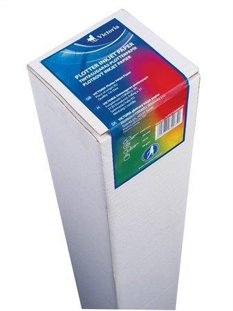 Plotterpapír, tintasugaras, 1068 mm x 50 m x 50 mm, 90 g, VICTORIA