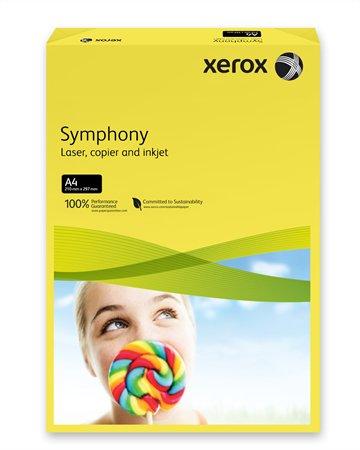 Másolópapír, színes, A4, 80 g, XEROX Symphony, sötétsárga (intenzív)