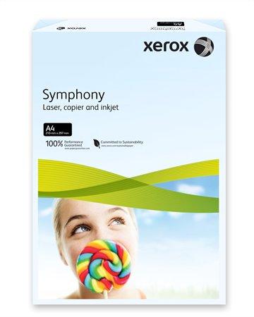 Másolópapír, színes, A4, 80 g, XEROX Symphony, világoskék (pasztell)
