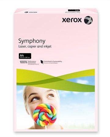 Másolópapír, színes, A4, 80 g, XEROX Symphony, rózsaszín (pasztell)