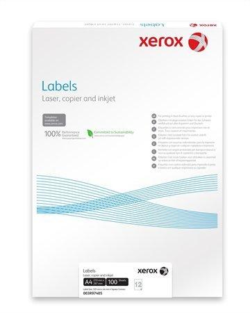 Xerox etikett címke | univerzális | 105x37 mm | 1600 etikett/csomag