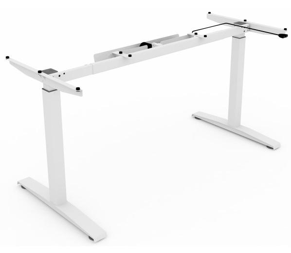 Massive I. asztalváz | elektromosan állítható magasság | 1 motoros | világosszürke