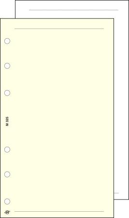 Kalendárium betét, jegyzetlap, L, sima, SATURNUS, chamois