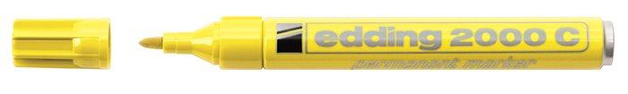 Alkoholos marker, 1,5-3 mm, kúpos, EDDING 2000, sárga