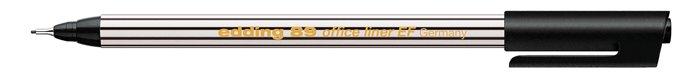 Tűfilc, 0,3 mm, EDDING 89 Office Liner, fekete